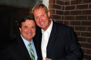 Marc Kealey and Finance Minister Jim Flaherty