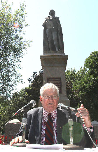 The Right Honourable John Turner in Kingston, Ontario